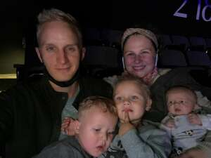 Curt attended Disney on Ice Presents Mickey's Search Party on Oct 13th 2021 via VetTix