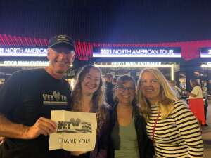 Scott attended An Evening With Michael Buble in Concert on Oct 15th 2021 via VetTix