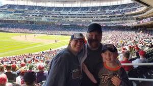 Joshua attended Minnesota Twins vs. Detroit Tigers - MLB on Apr 22nd 2017 via VetTix