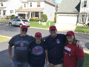 Trevor attended Minnesota Twins vs. Detroit Tigers - MLB on Apr 22nd 2017 via VetTix