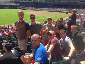 Tiegen attended Minnesota Twins vs. Detroit Tigers - MLB on Apr 22nd 2017 via VetTix