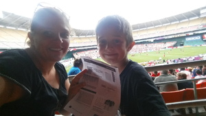 Lillie attended DC United vs. Chicago Fire - MLS - Armed Forces Day on May 20th 2017 via VetTix