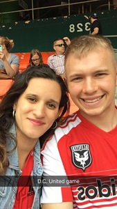 Jesse attended DC United vs. Chicago Fire - MLS - Armed Forces Day on May 20th 2017 via VetTix