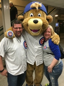 Jeff attended Chicago Cubs vs. Milwaukee Brewers - MLB on Apr 18th 2017 via VetTix