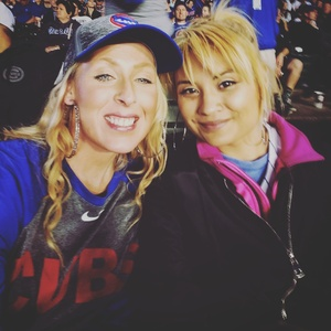 Ashley attended Chicago Cubs vs. Milwaukee Brewers - MLB on Apr 18th 2017 via VetTix