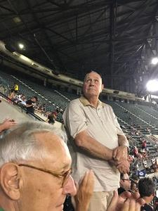 Gerald attended Arizona Diamondbacks vs. San Francisco Giants - MLB on Apr 6th 2017 via VetTix