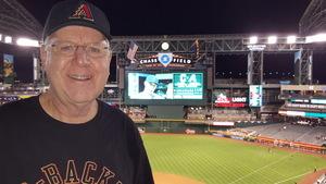 Ernest attended Arizona Diamondbacks vs. San Francisco Giants - MLB on Apr 6th 2017 via VetTix