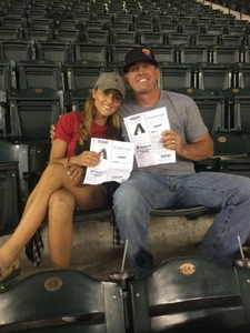 William attended Arizona Diamondbacks vs. San Francisco Giants - MLB on Apr 6th 2017 via VetTix