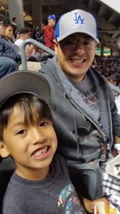 Alejandro attended Los Angeles Dodgers vs. Colorado Rockies - MLB on Apr 19th 2017 via VetTix