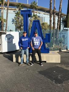 chris attended Los Angeles Dodgers vs. Colorado Rockies - MLB on Apr 19th 2017 via VetTix