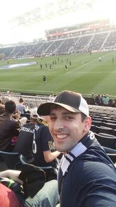 James attended Philadelphia Union vs. New Yorkcity FC - MLS on Apr 14th 2017 via VetTix