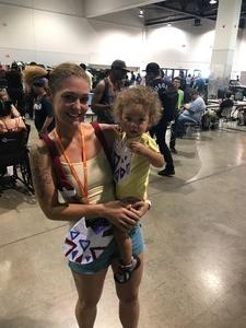 Jessica attended Lvl Up Expo - Gaming Convention and Anime on May 12th 2017 via VetTix