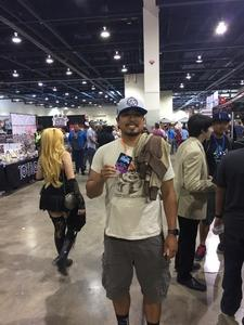 Albert attended Lvl Up Expo - Gaming Convention and Anime on May 12th 2017 via VetTix