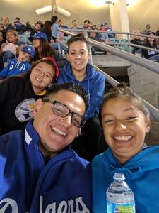 Jason attended Los Angeles Dodgers vs. Pittsburgh Pirates - MLB on May 9th 2017 via VetTix