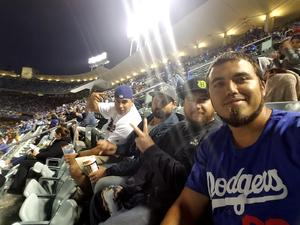 Andrew attended Los Angeles Dodgers vs. Pittsburgh Pirates - MLB on May 9th 2017 via VetTix