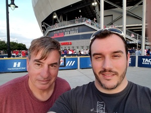 Mark Wise attended New York Red Bulls vs. Toronto FC - MLS on May 19th 2017 via VetTix