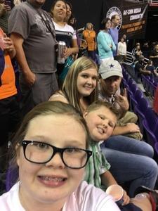 James attended Arizona Rattlers vs. Salt Lake Screaming Eagles - IFL on May 20th 2017 via VetTix