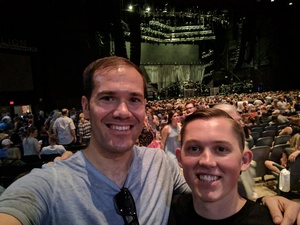 James attended Brad Paisley With Special Guest Dustin Lynch, Chase Bryant, and Lindsay Ell on May 19th 2017 via VetTix