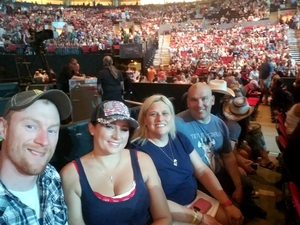 Frederick attended Soul2Soul the World Tour 2017 on May 26th 2017 via VetTix