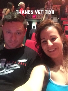 Crystal attended Soul2Soul the World Tour 2017 on May 26th 2017 via VetTix