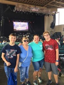 Jennifer attended Jeff and Larry's Backyard BBQ Plus the Marshall Tucker Band - Lawn Seats on Aug 26th 2017 via VetTix