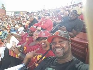 Kevin attended University of Southern California Trojans vs. Stanford - NCAA Football on Sep 9th 2017 via VetTix