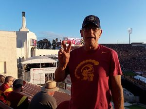 gabriel attended University of Southern California Trojans vs. Stanford - NCAA Football on Sep 9th 2017 via VetTix