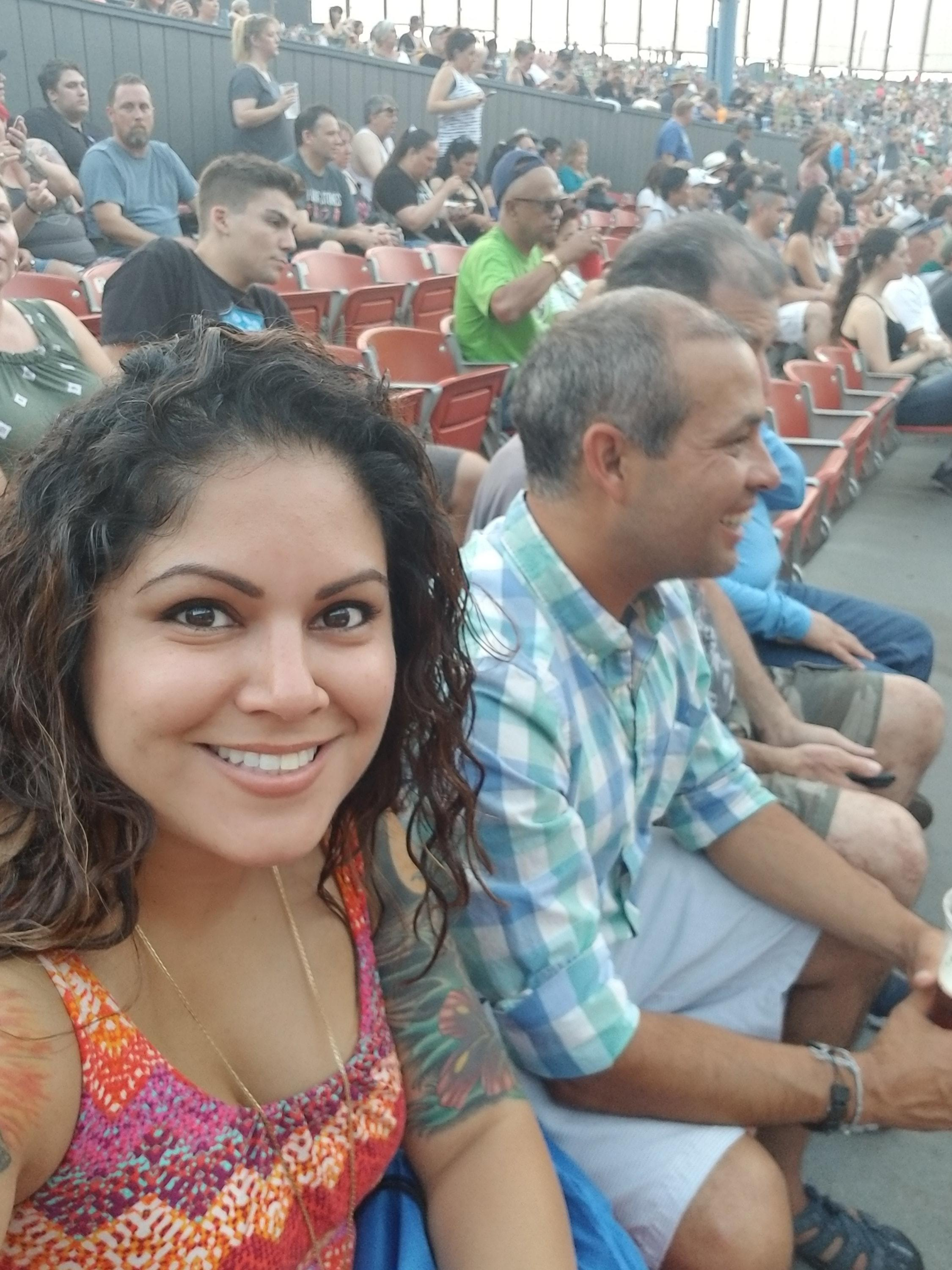10e87f15404d Cynthia attended 40th Anniversary Tour - Foreigner With Cheap Trick and  Jason Bonham s Led Zeppelin Experience
