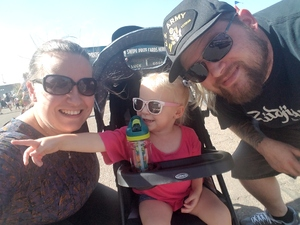 Ashley, Jonny and Samantha attended Arizona State Fair Armed Forces Day - Tickets Are Only Good for October 20th on Oct 20th 2017 via VetTix