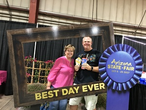 Johnny attended Arizona State Fair Armed Forces Day - Tickets Are Only Good for October 20th on Oct 20th 2017 via VetTix