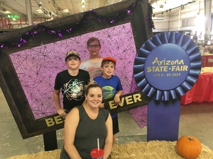 Gary attended Arizona State Fair Armed Forces Day - Tickets Are Only Good for October 20th on Oct 20th 2017 via VetTix