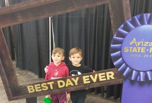 Brian C. attended Arizona State Fair Armed Forces Day - Tickets Are Only Good for October 20th on Oct 20th 2017 via VetTix