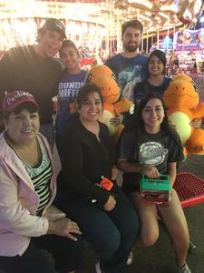 Gonzalo attended Arizona State Fair Armed Forces Day - Tickets Are Only Good for October 20th on Oct 20th 2017 via VetTix