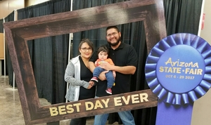 Vidal attended Arizona State Fair Armed Forces Day - Tickets Are Only Good for October 20th on Oct 20th 2017 via VetTix