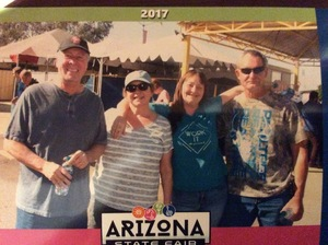 Patrick attended Arizona State Fair Armed Forces Day - Tickets Are Only Good for October 20th on Oct 20th 2017 via VetTix