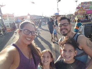 Eustacio attended Arizona State Fair Armed Forces Day - Tickets Are Only Good for October 20th on Oct 20th 2017 via VetTix