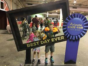 Kent attended Arizona State Fair Armed Forces Day - Tickets Are Only Good for October 20th on Oct 20th 2017 via VetTix