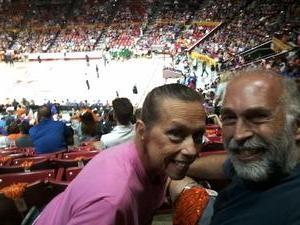 Bruce attended Phoenix Mercury vs. Seattle Storm - WNBA - Playoff Game! on Sep 6th 2017 via VetTix
