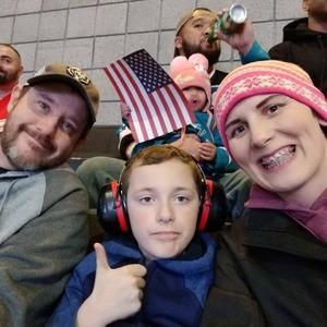 Denise attended San Jose Sharks vs. New York Rangers - NHL - Alternate Jersey Auction - Military Appreciation on Jan 25th 2018 via VetTix