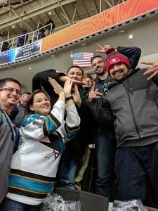Michael attended San Jose Sharks vs. New York Rangers - NHL - Alternate Jersey Auction - Military Appreciation on Jan 25th 2018 via VetTix