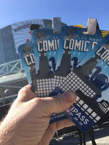 Robert attended Stan Lee's Los Angeles Comic Con - Tickets Are Good for All 3 Days on Oct 27th 2017 via VetTix
