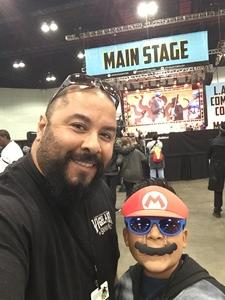 Roland attended Stan Lee's Los Angeles Comic Con - Tickets Are Good for All 3 Days on Oct 27th 2017 via VetTix