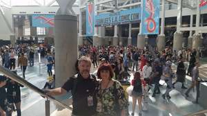Rob attended Stan Lee's Los Angeles Comic Con - Tickets Are Good for All 3 Days on Oct 27th 2017 via VetTix