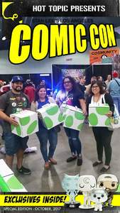 Alexander attended Stan Lee's Los Angeles Comic Con - Tickets Are Good for All 3 Days on Oct 27th 2017 via VetTix