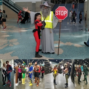 Vivian attended Stan Lee's Los Angeles Comic Con - Tickets Are Good for All 3 Days on Oct 27th 2017 via VetTix