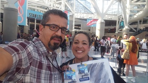 Jerry attended Stan Lee's Los Angeles Comic Con - Tickets Are Good for All 3 Days on Oct 27th 2017 via VetTix