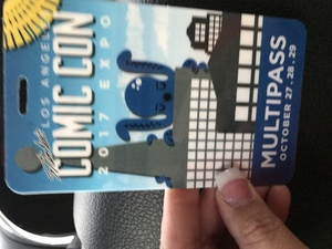 Norleen attended Stan Lee's Los Angeles Comic Con - Tickets Are Good for All 3 Days on Oct 27th 2017 via VetTix