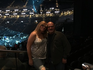 Larry attended Soul2Soul Tour With Faith Hill and Tim McGraw on Oct 27th 2017 via VetTix