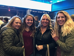 Amy attended Soul2Soul Tour With Faith Hill and Tim McGraw on Oct 27th 2017 via VetTix