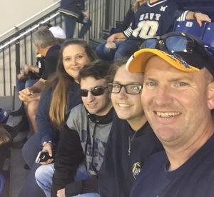 Gary attended Navy Midshipmen vs. UCF - NCAA Football on Oct 21st 2017 via VetTix